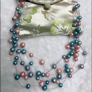Honora Pearl Floating Nacklaces set of 3